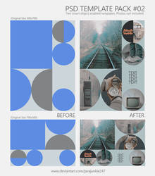 PSD Template Pack #02