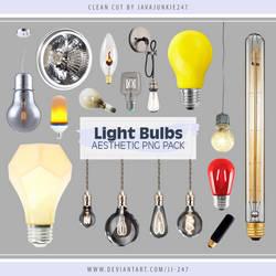 Light Bulbs Aesthetic PNG Pack