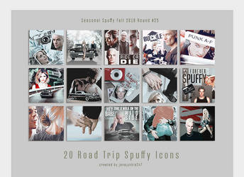 SS #25 Road Trip Icon Pack