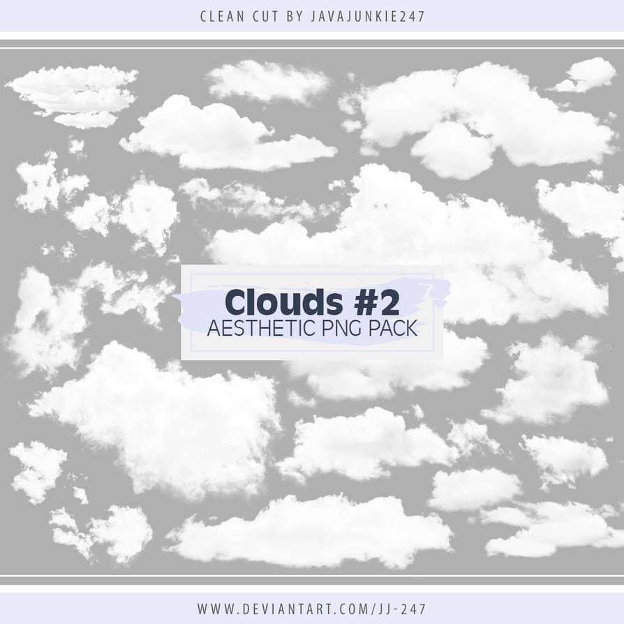 Clouds Aesthetic PNG Pack 02
