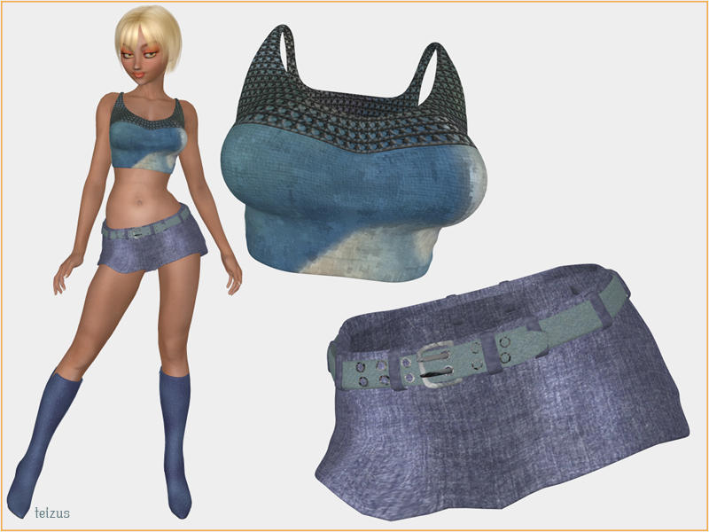 Jeans texture for A3 Lotus by teizus