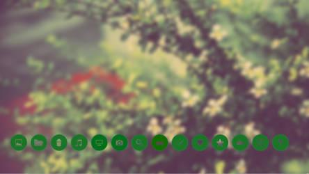 Roundgreen icons