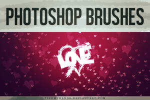 Love - Brushes by tiedmyhands