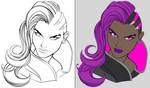 Sombra Lines and Flats by lellojello