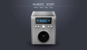 Music icon by TomasJanousek