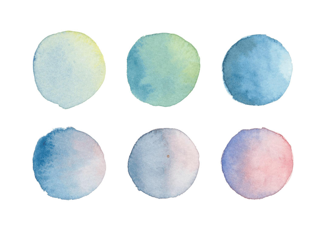 Watercolour Drops by skansen