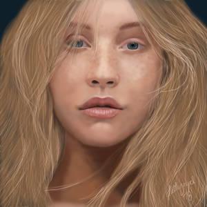 Christina Aguilera no makeup