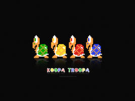Koopa Troopa by flamaster3