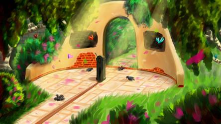 The enchanted garden - Gif