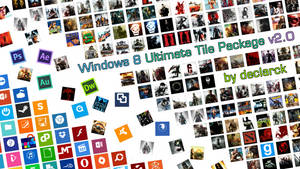 Windows 8 Ultimate Tile Package