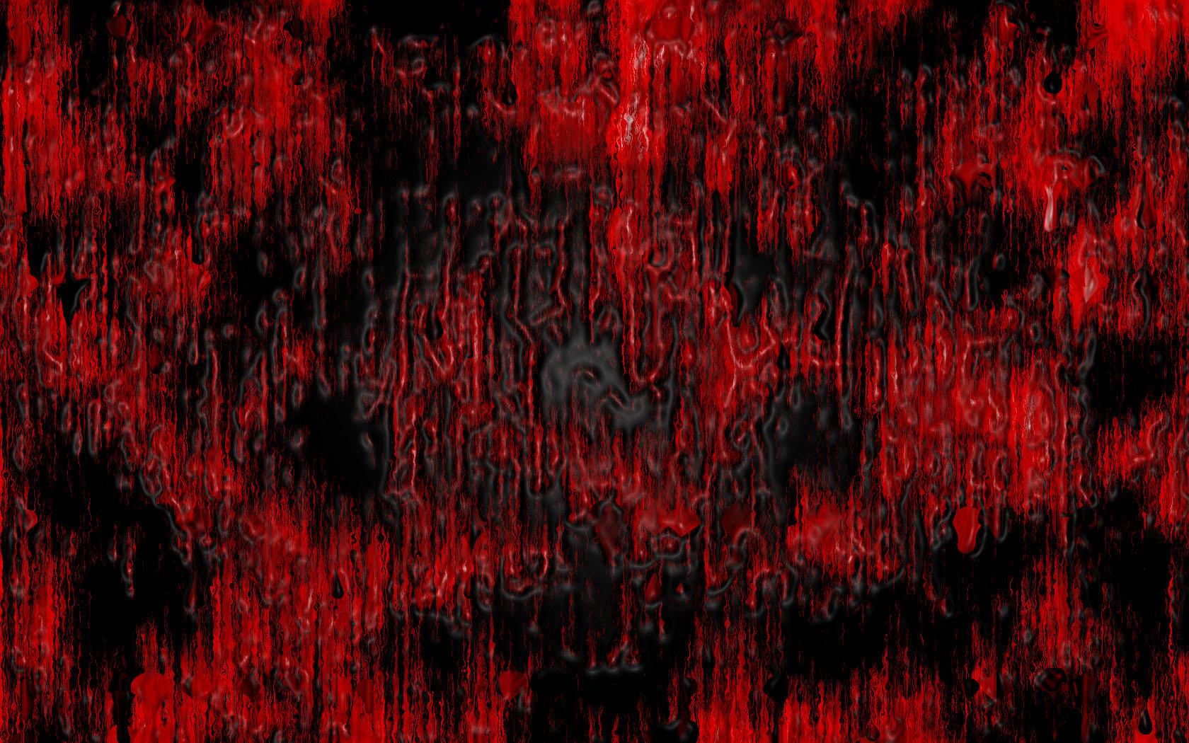Blood Spatter Paint Job