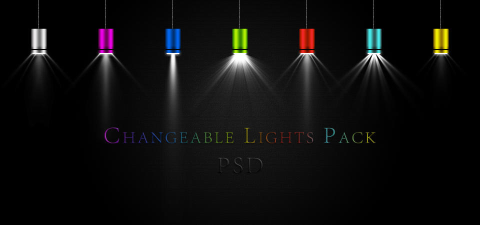 Changeable Lights Pack PSD By Agamemmnon