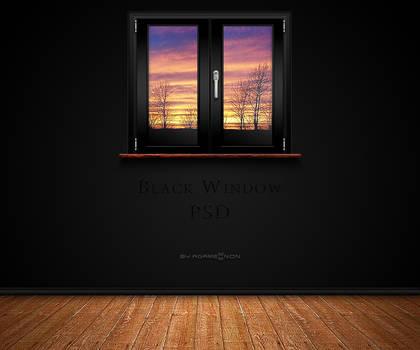 Black Window PSD