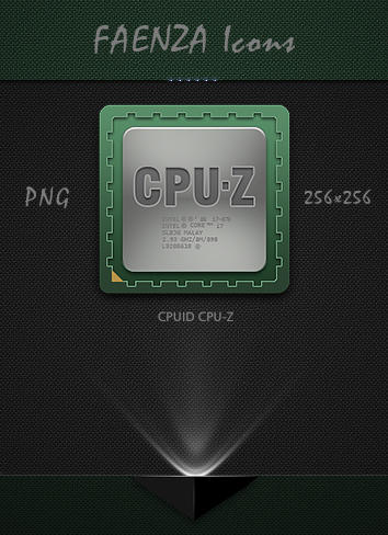Faenza CPUID CPU-Z Icon by Agamemmnon