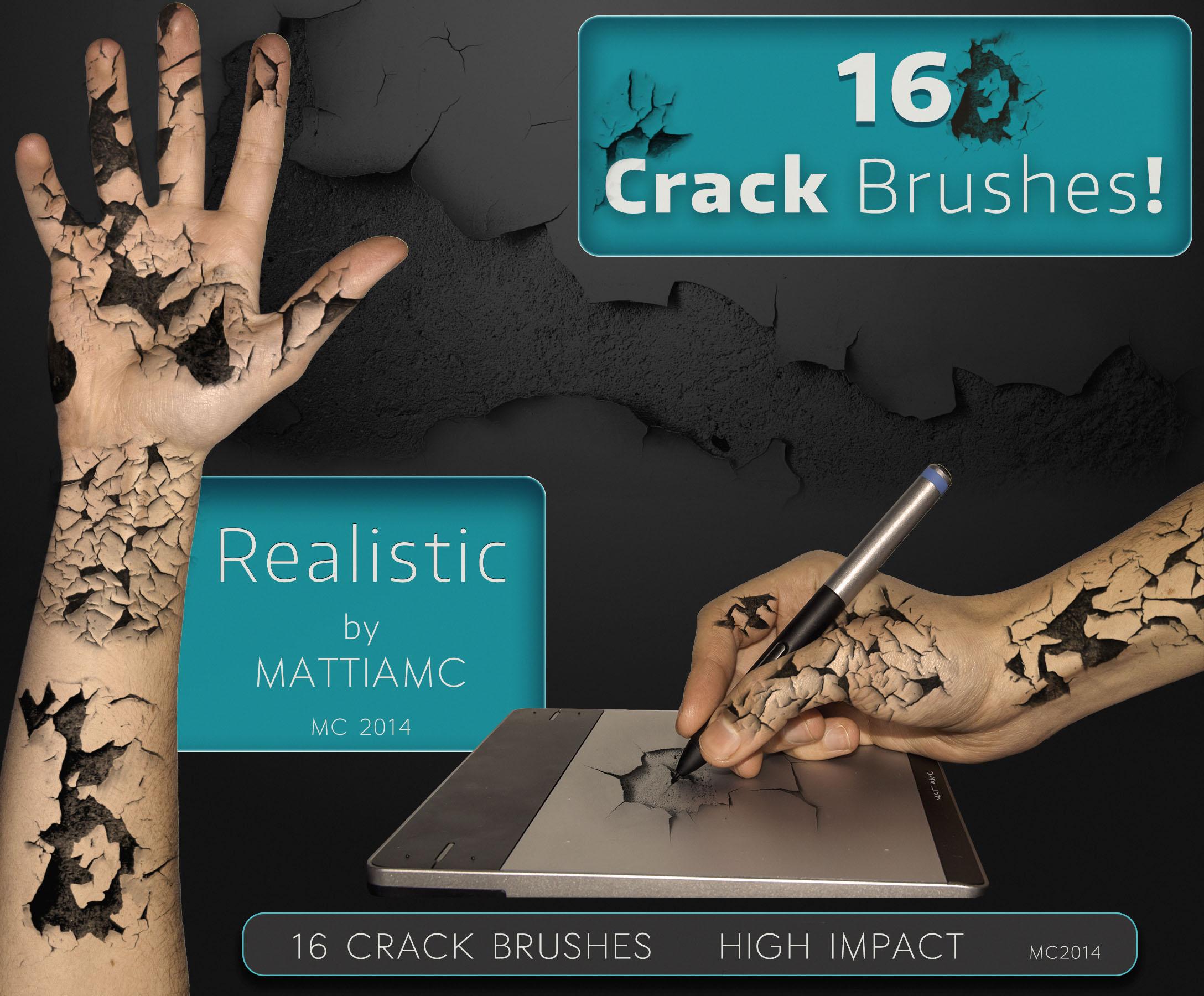 16 Crack Brushes MC 2014