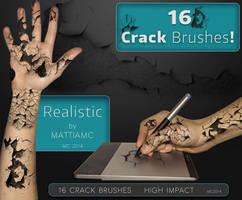 16 Crack Brushes MC 2014 by MattiaMc