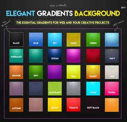 Elegant Gradients Background 2017