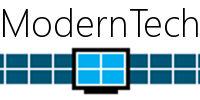 ModernTech banner concept