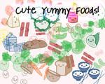 Cute Yummy Food Brushes