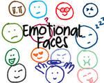 Emotional Faces Brushes