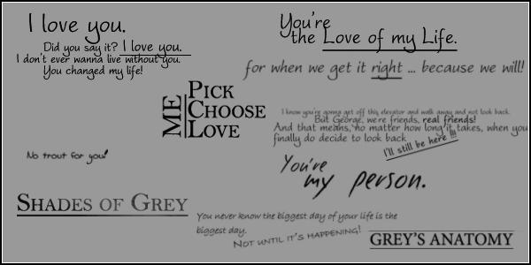 Grey's Anatomy brushes by Paddy-fan
