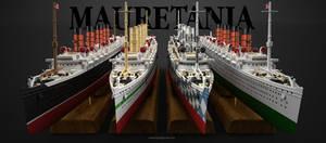Mauretania Ocean Liner from 1906 to 1935