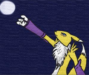 1st bigger animation: renamon by hummingbird005