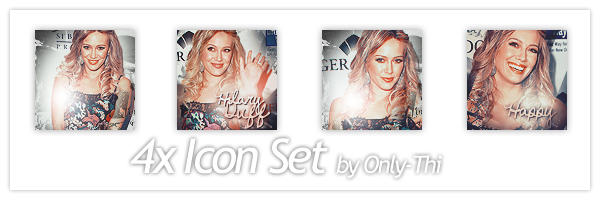 Hilary Duff - Icon Set 25 by only-thi