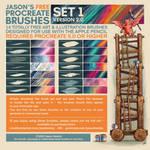 Jason's FREE Procreate Brushes - Set 1 - UPDATED!