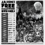 Jason's FREE Hallowink Brushes for Procreate