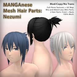 SL - MANGAnese Hair: Nezumi + PSD