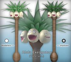 SL - Alola Exeggutor (Tree ver.) + PSD