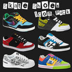 Skate Shoes Icon Pack