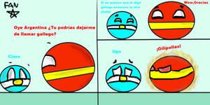 Espana y Argentina Comic Humor