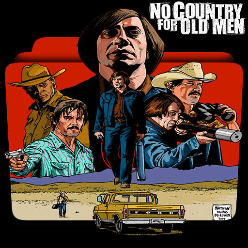 No Country For Old Men 2007 Folder Icon2 By Mrsixthree On Deviantart