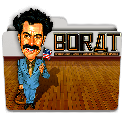 Borat 2006 Folder Icon By Mrsixthree On Deviantart