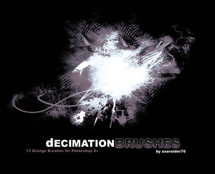 Decimation Brushes