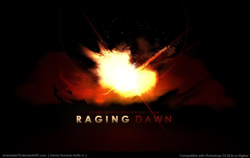 Raging Dawn Brushes by Axeraider70
