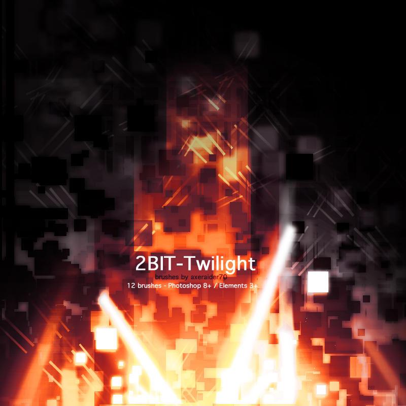 2Bit-Twilight Brushes by Axeraider70