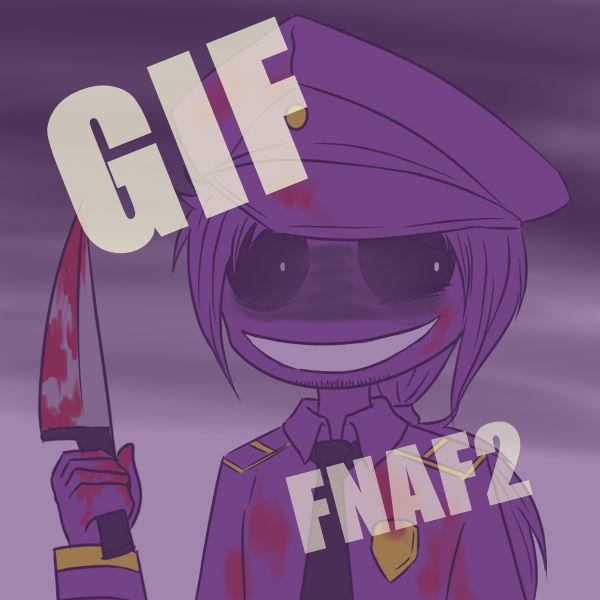 Purple Guy GIF