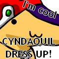 Cyndaquil Dress Up V.1 by Atrixy