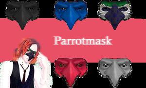 [MMD] Parrotmask DL