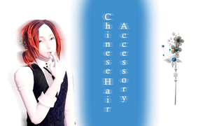 [MMD] Chinese Hair Accessory DL