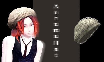 [MMD] Autumn Hat DL