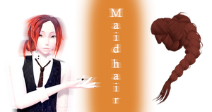 [MMD] Maid Hair DL by JoanAgnes