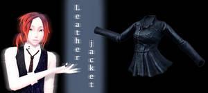 [MMD] Leather jacket DL