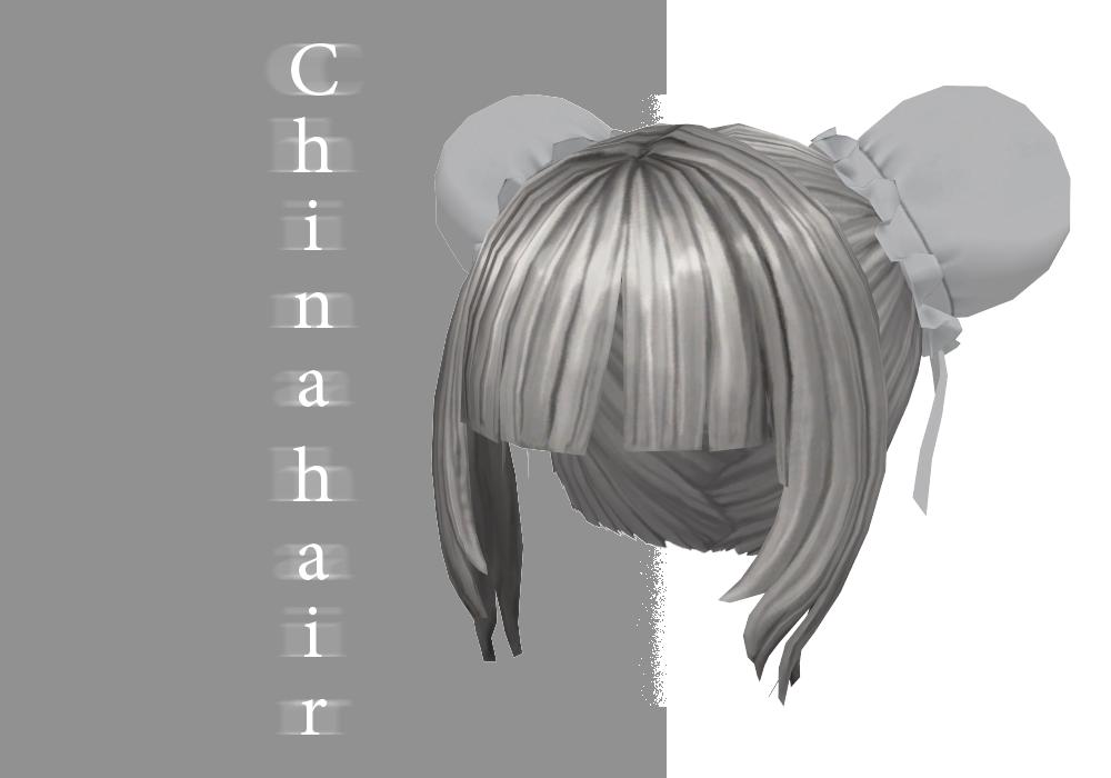 MMD China Hair