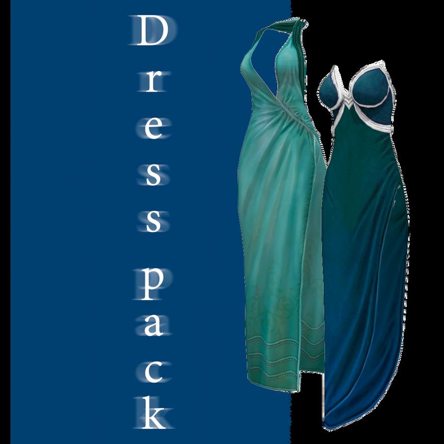 [MMD] Dress pack - DL by JoanAgnes