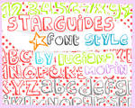 STARGUIDES FONT STYLE