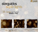 Sepia Lights 1